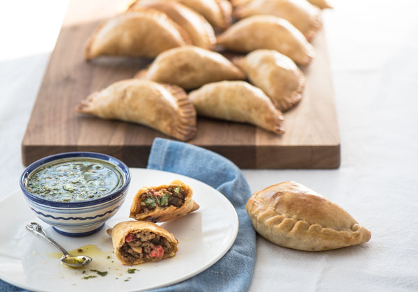 Sweet and Savory Beef Empanadas, recipe.