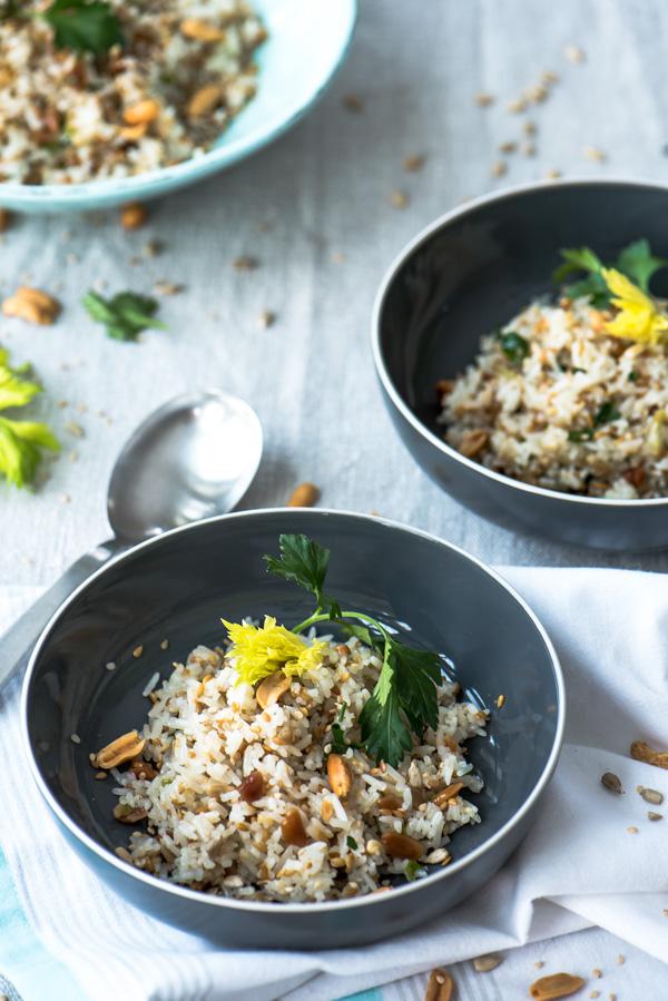 Crunchy Jasmine Rice, recipe.
