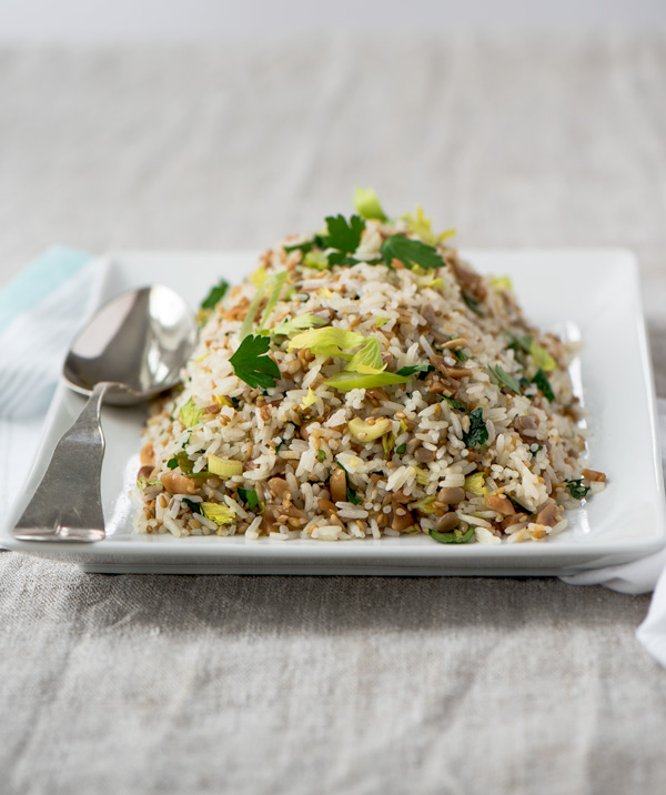 Quick and Crunchy Jasmine Rice, a recipe.