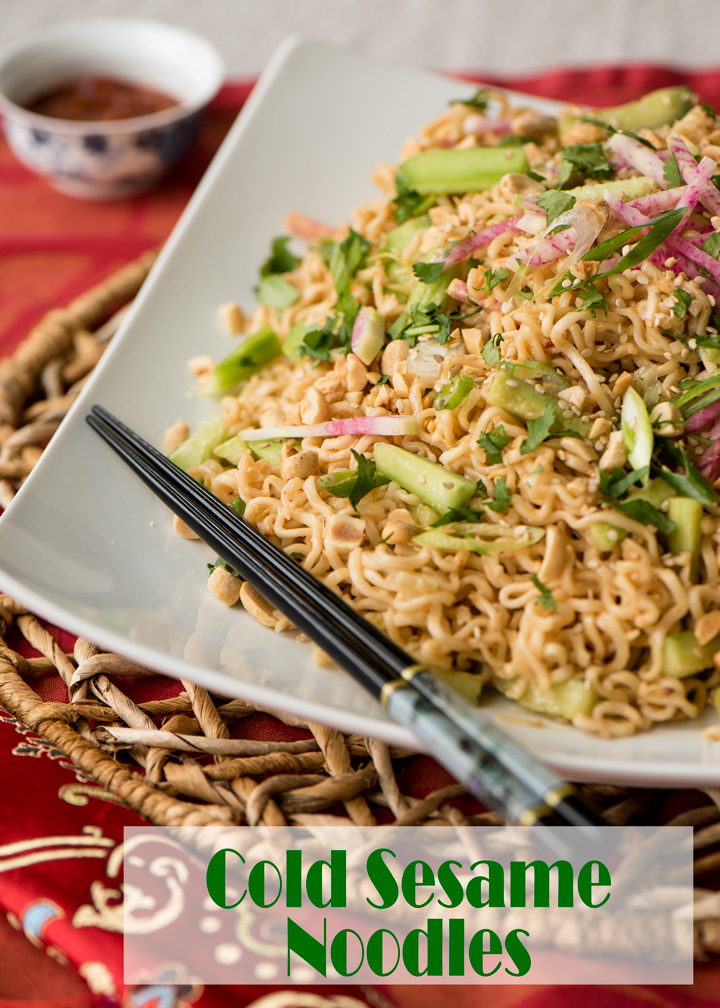 A recipe for Cold Sesame Noodles