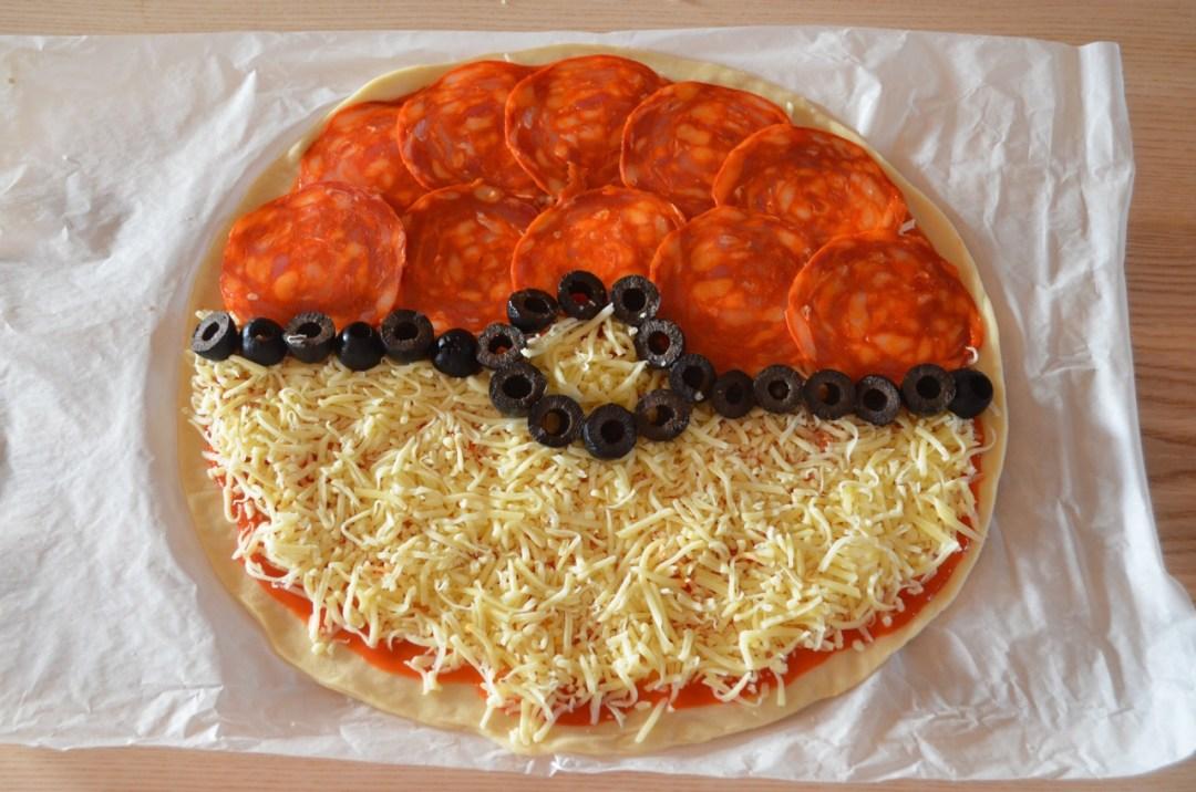 pokeball pizza pokemon go