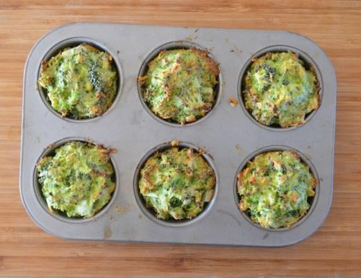 Muffins salados de brócoli