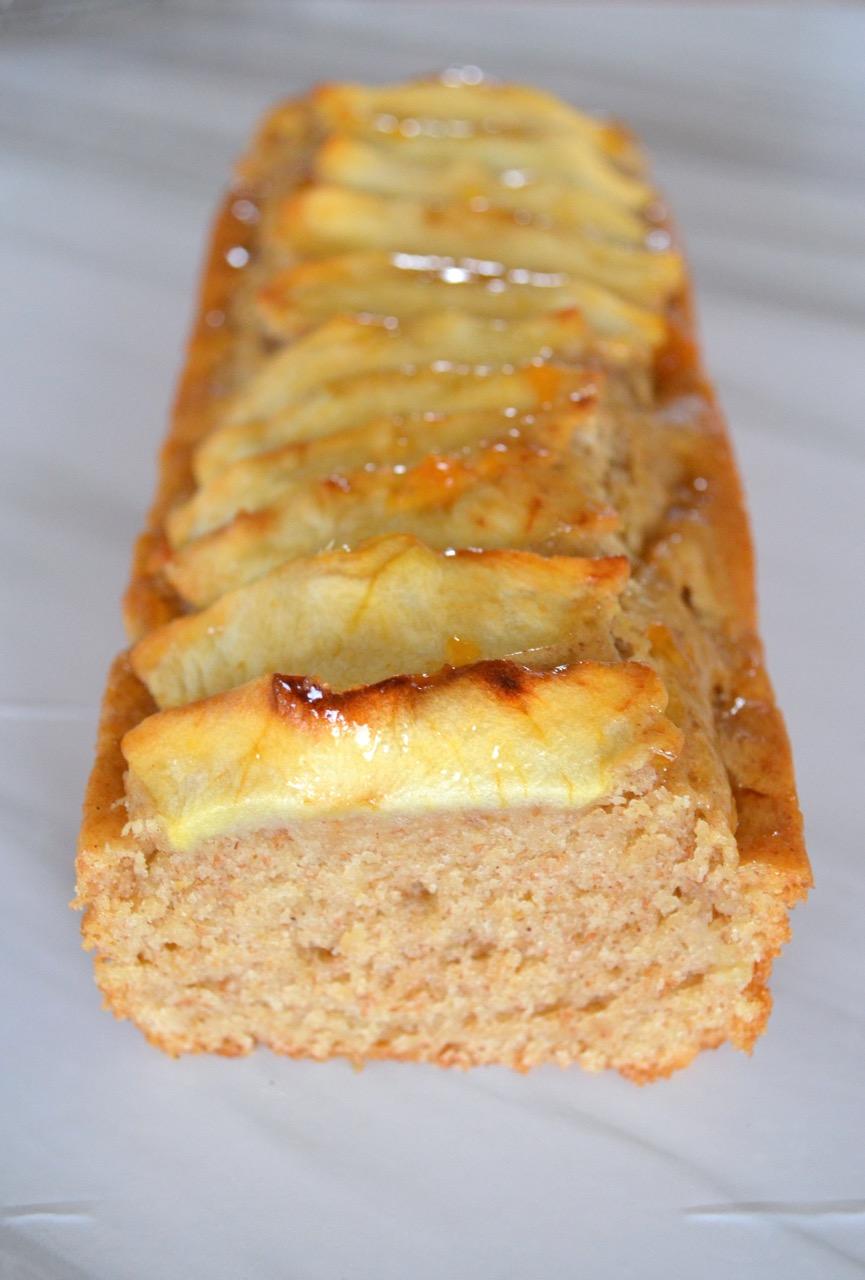 Tarta de manzana sin gluten y sin lactosa vegana