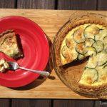 Caramelized Onion & Zucchini Quiche
