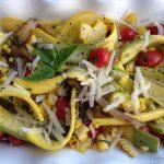 Zephyr Squash Summer Salad