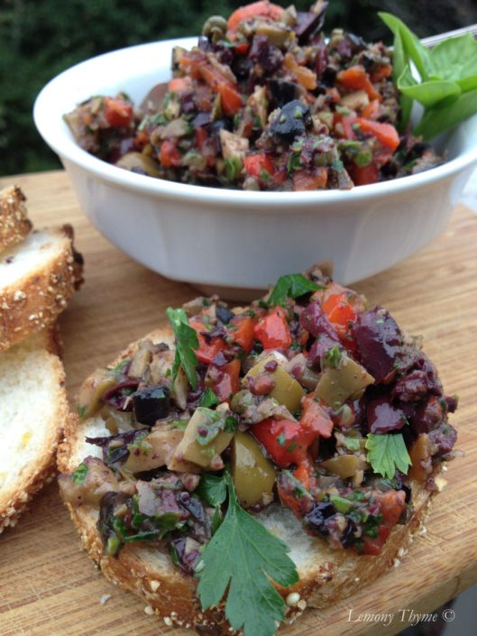 Triple Olive Tapenade