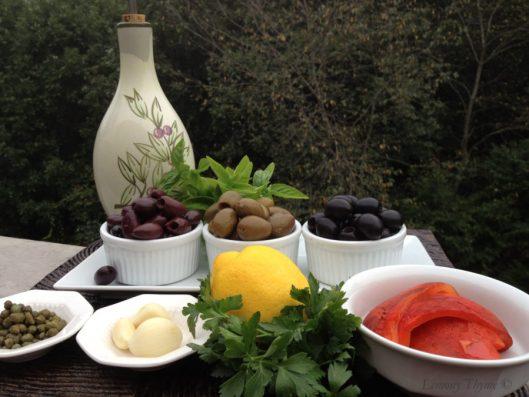 Triple Olive Tapenade