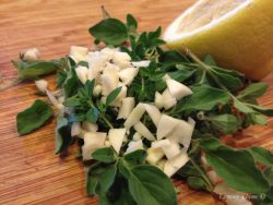 Oregano Lemon Garlic Marinade
