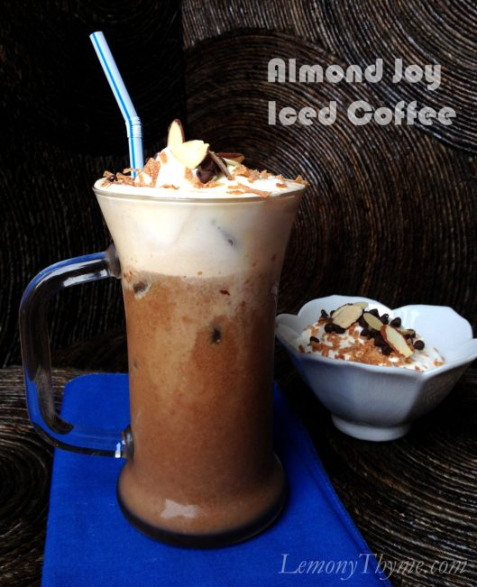 Almond Joy Iced Coffee