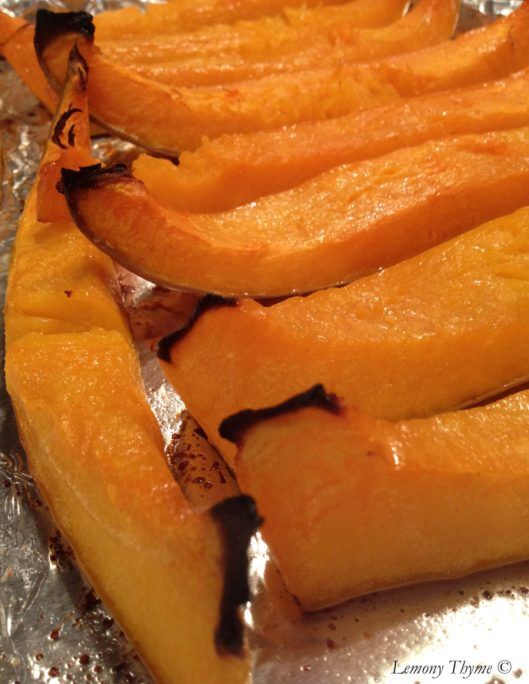 Roasted Cushaw Squash