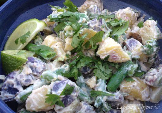 Mexican Green Bean & Potato Salad