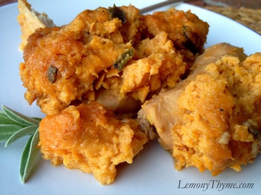 Brown Sugar Chicken & Sweet Potato Casserole