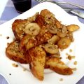 Caramelized Banana Nut French Toast
