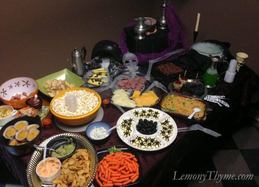 Halloween Buffet 2012