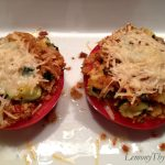 Herb Stuffed Tomatoes