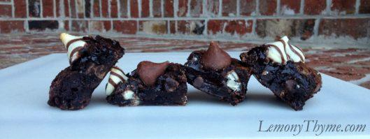 Hugs & Kisses Brownies