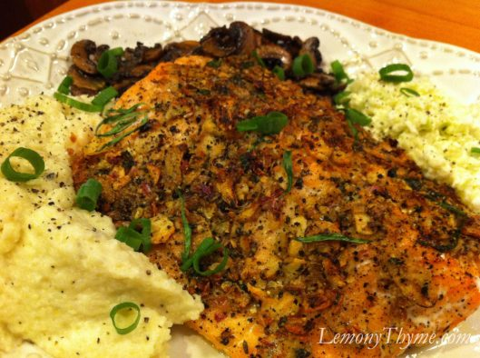 Slow Roasted Salmon with Tarragon and Citrus