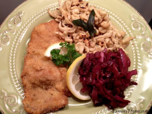 German Sweet & Sour Red Cabbage