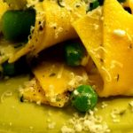 Pappardelle & Peas with Ricotta Pesto