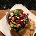 Pomengranate Zucchini & Avocado Salsa