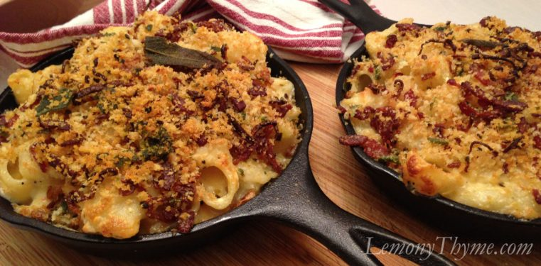 Sage Brown Butter & Bacon Mac 'n Cheese