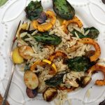 Roasted Vegetable Orzo Featuring Delicata Squash