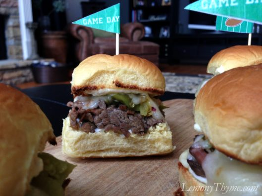Pepperoncini Pot Roast Sliders