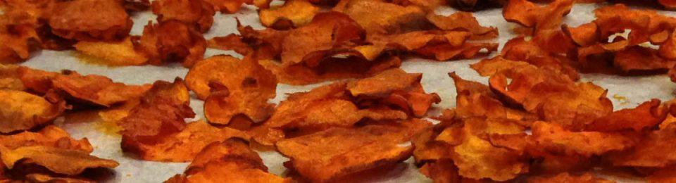Smoked Paprika Sweet Potato Chips