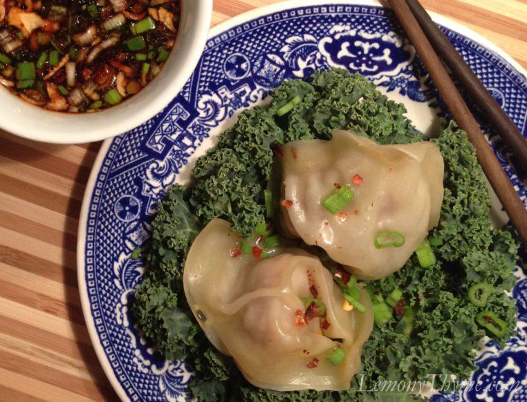 Steamed Shrimp & Pork Dumplings