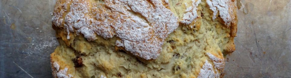 Bacon and Sage Soda Bread