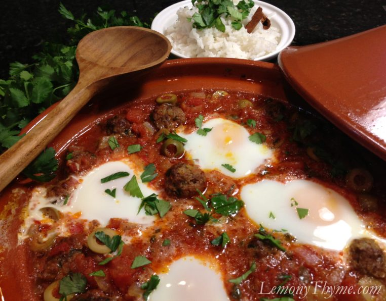 Mkaouara with Poached Eggs