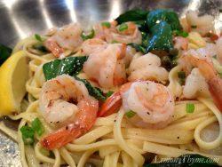 Lemon Basil Shrimp & Pasta