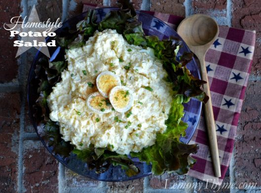 Homestyle Potato Salad from Lemony Thyme