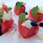 Watermelon Salad with Feta & Mint