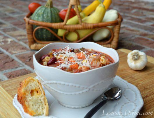 Farmers Market Minestrone Soup