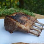 Braised Rack of Lamb