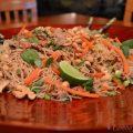 Chinese Pork Tenderloin with Garlic Sauced Noodles