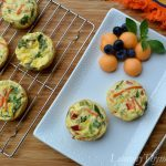 Feta & Vegetable Mini Frittatas