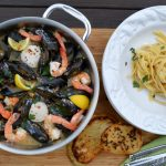 Steamed Mussels, Shrimp & Sea Scallops