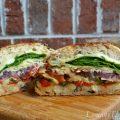 Roasted Italian Veggie Grilled Cheese Sandwich