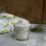 Lemony Thyme preserved in sea salt