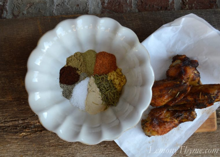 Mardi Gras Wing Seasoning