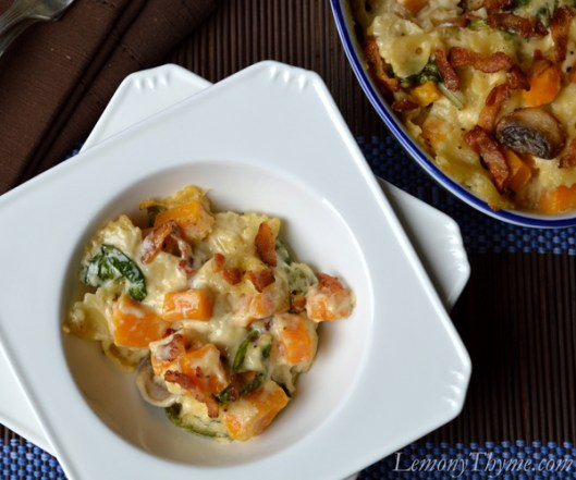 Cheesy Butternut Squash Pasta Bake2