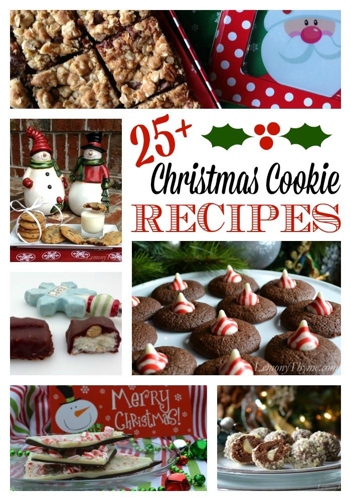 Christmas Cookie Recipes | LemonyThyme.com