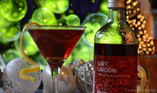 Lingonberry Martini2