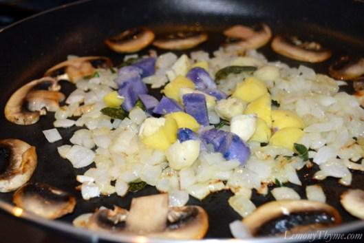Savory Veggie & Herb Egg White Taquitos