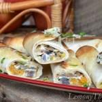 Savory Veggie & Herb Egg White Taquitos4