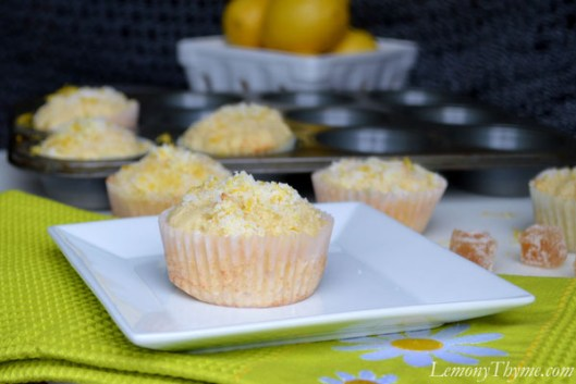 Lemon Ginger Muffins1