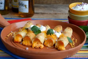 Buffalo Chicken Taquitos2