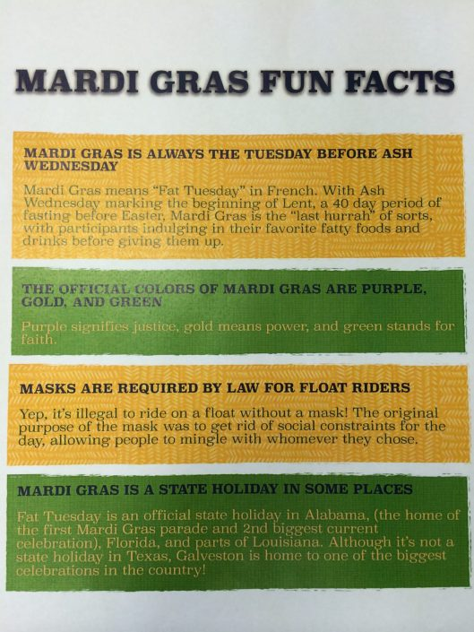 Mardi Gras Fun Facts